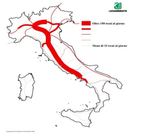 INFRASTRUTTURE IN ITALIA: UN CASO DI SPEREQUAZIONE