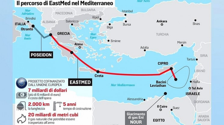 L'ombra dell'EastMed: una nuova TAP?