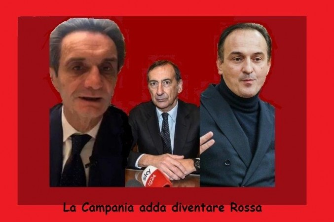 """L'ORIGINE DEL LOCKDOWN: """"LA CAMPANIA DEVE DIVENTARE ZONA ROSSA"""""""