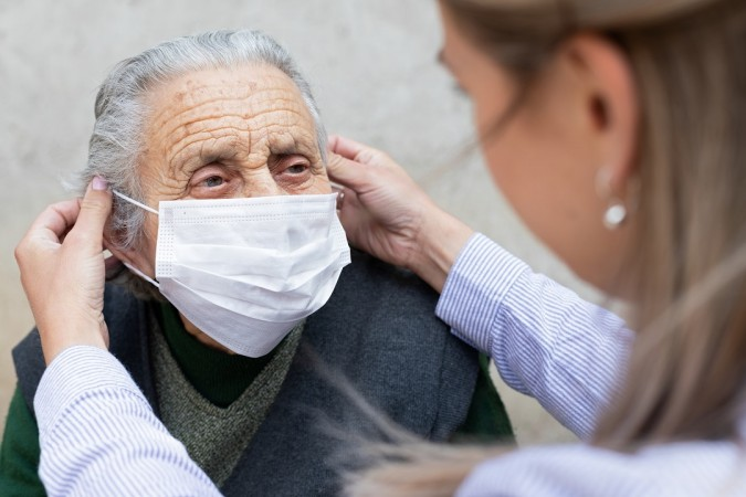 Le persone fragili positive al virus dove vengono curate?
