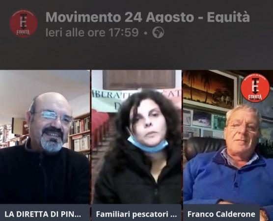 DIRETTA CON FAMILIARI DEI PESCATORI SICILIANI: DIGNITÀ E FORZA CONTRO LATITANZA DELLE ISTITUZIONI