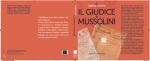 """""""IL GIUDICE E MUSSOLINI"""" - DI RAFFAELE VESCERA"""