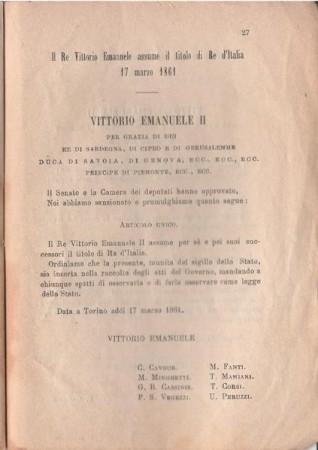 17 MARZO 1861, DOPO GARIBALDI IL MEZZOGIORNO È GIA' IN CRISI NERA