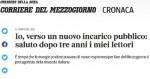 L'EX MINISTRO ANTISUD DE VINCENTI VERSO UN NUOVO INCARICO PUBBLICO? MACCHÈ VA AD AEROPORTI DI ROMA, DI PROPRIETA' ATLANTIA-BENETTON
