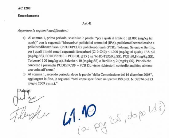 NEL DECRETO GENOVA È CONTENUTO L'ARTICOLO 41,VOLUTO DALLA LEGA... MA NON SOLO.